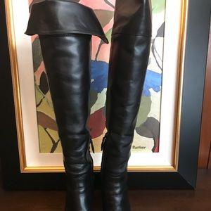 Tory Burch OTK Black Boots